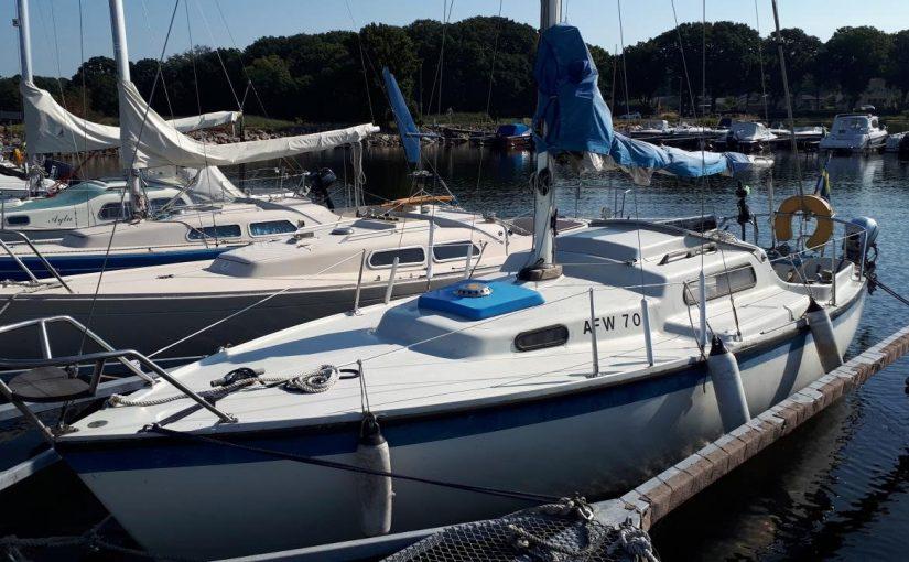Karlskrona Viggen всего за 385 евро без двигателя