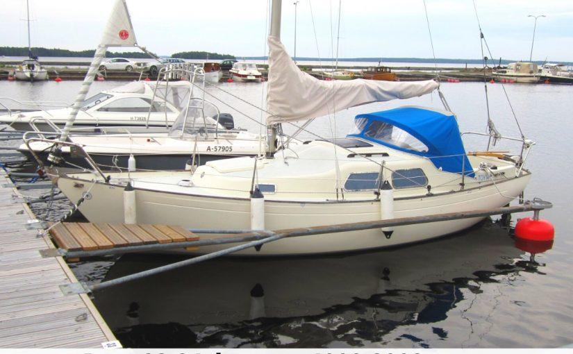 Яхты 22-24 футов за 1000-2000 €: на что рассчитывать?