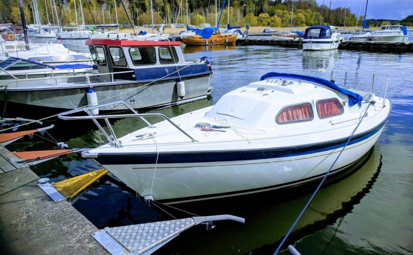 Sunwind 20 со стационарным двигателем Альбин Q-11 всего за 860 евро!