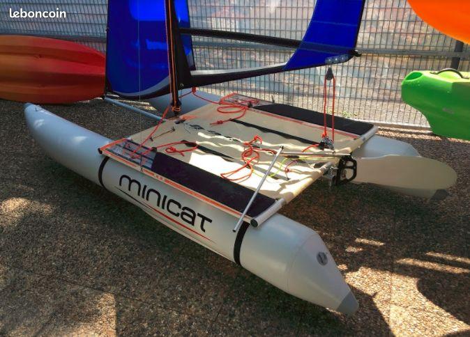 Парусный катамаран Minicat 310 всего за 1000 евро (новый стоит около 4000 евро).