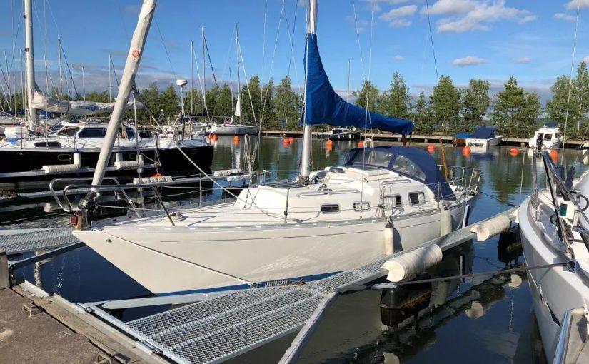Shipman 28 со свежим двигателем Vetus 16 л.с. всего за 5000 евро!
