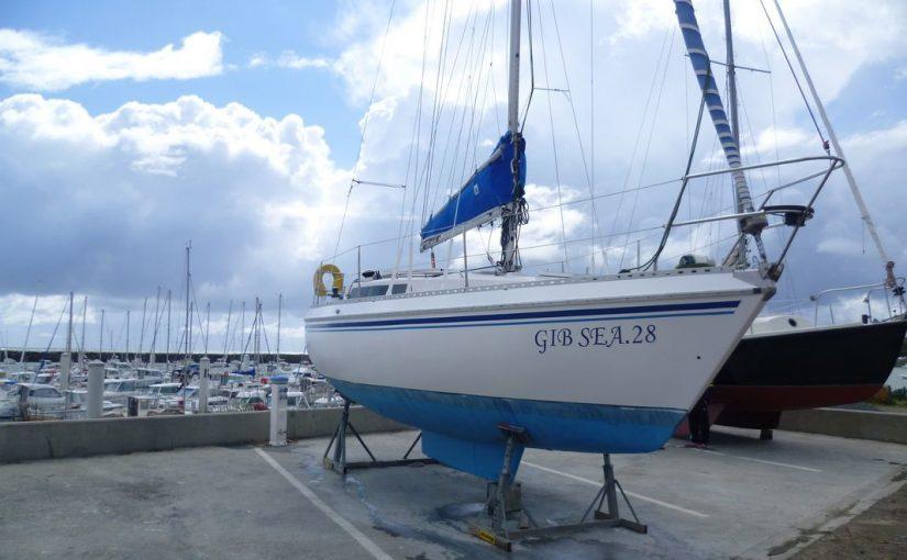 Gib Sea 28 со свежим Lombardini diesel (2015 год, всего 100 часов!) за 9000 евро.