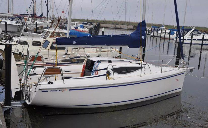 Maxus 24, очень интересная яхта от известной верфи (2010 год постройки) всего за 14 000 евро!